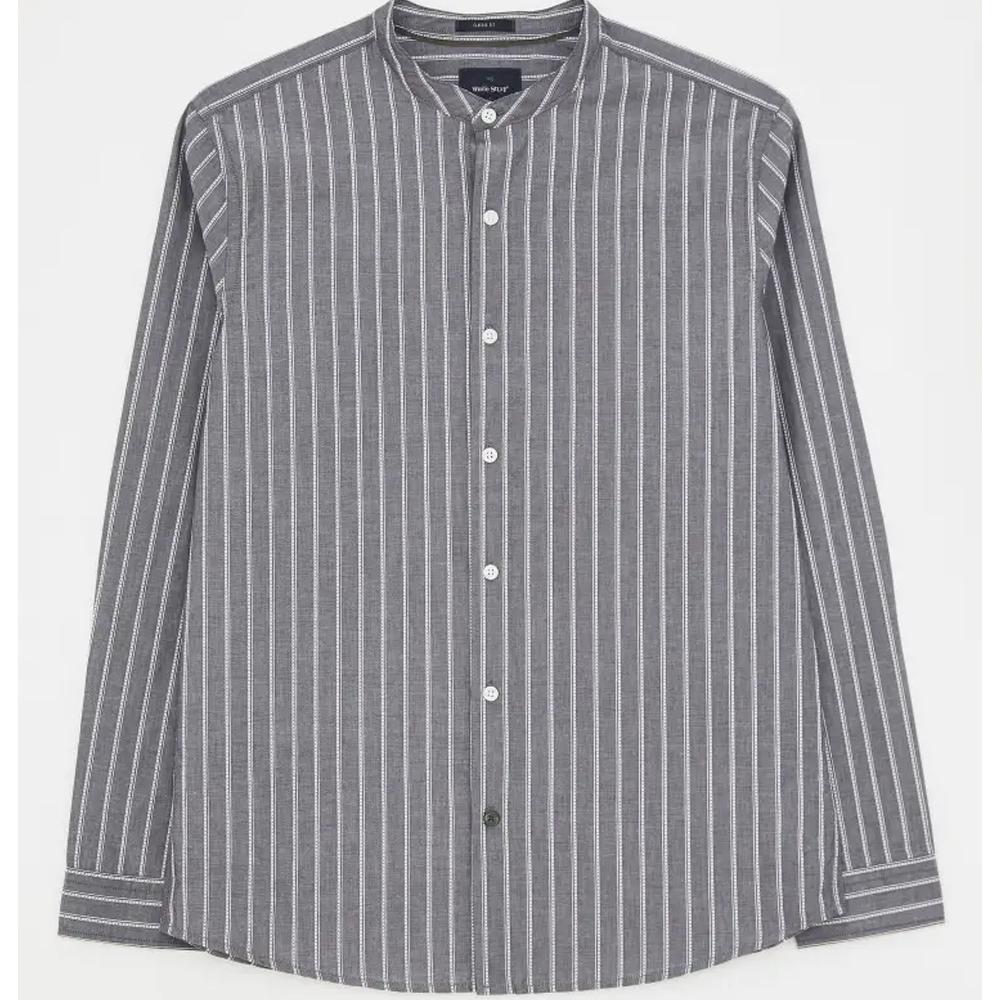 White Stuff Grandad Stripe Shirt