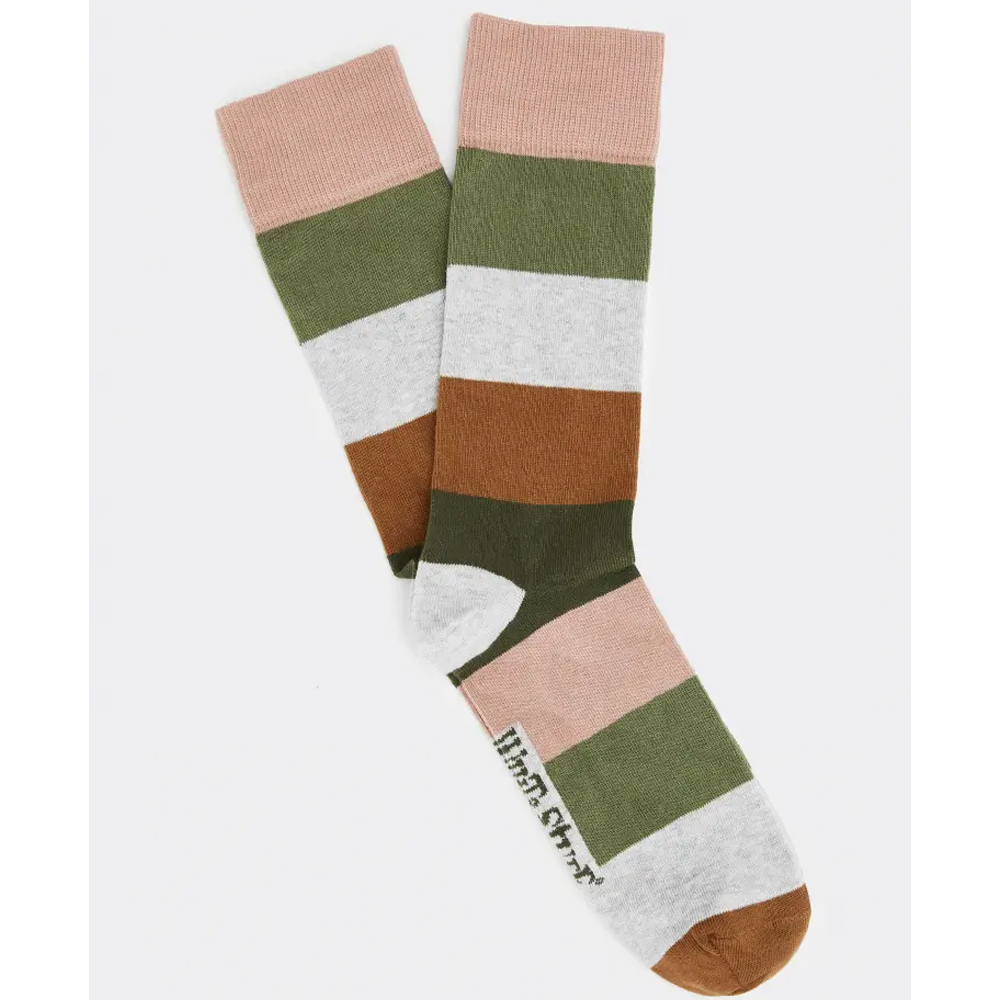 White Stuff Wide Stripe Sock