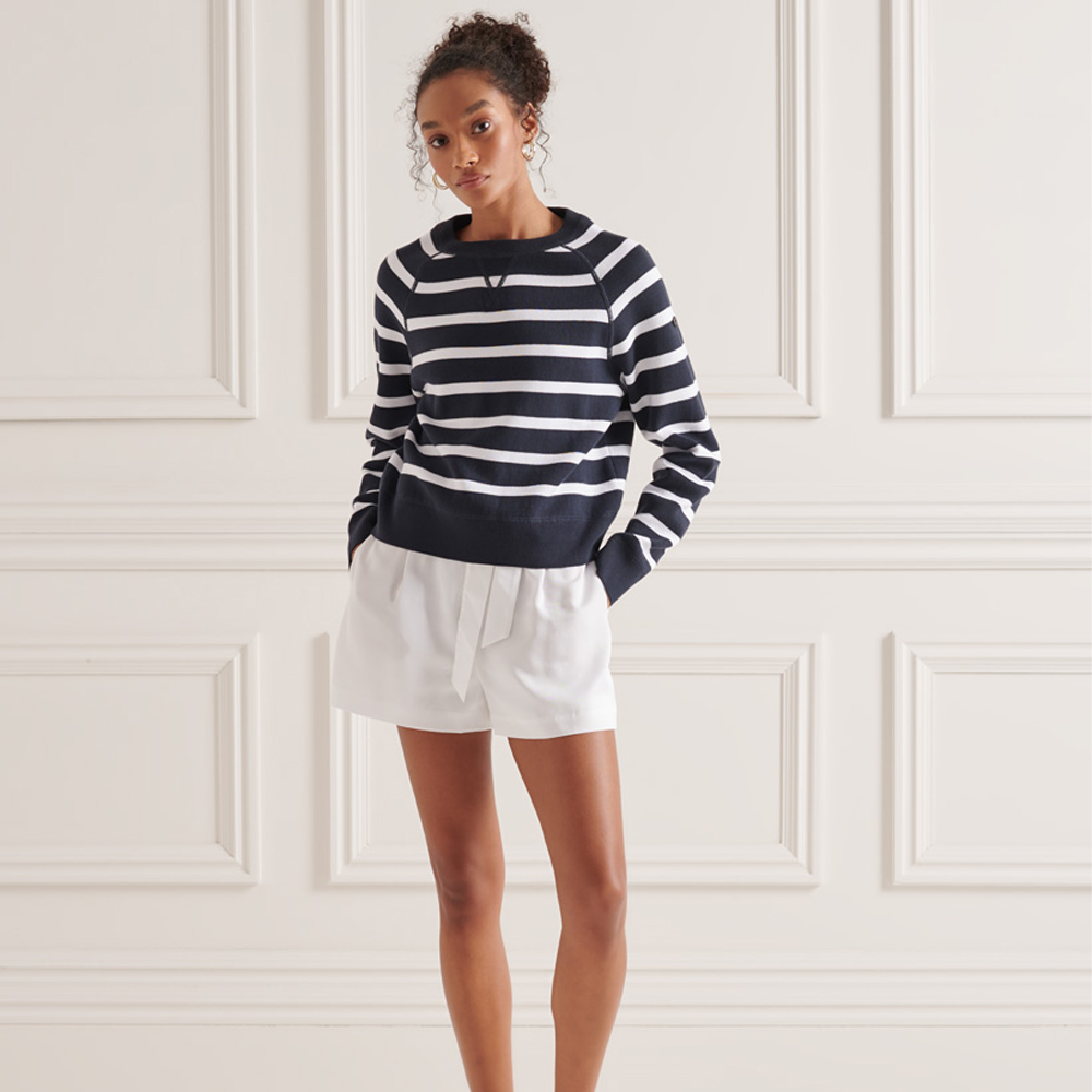 Superdry Essential Organic Cotton Crew Jumper
