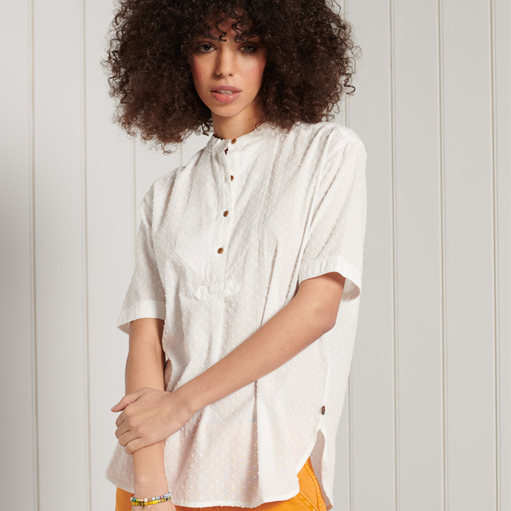 Superdry Grandad Blouse