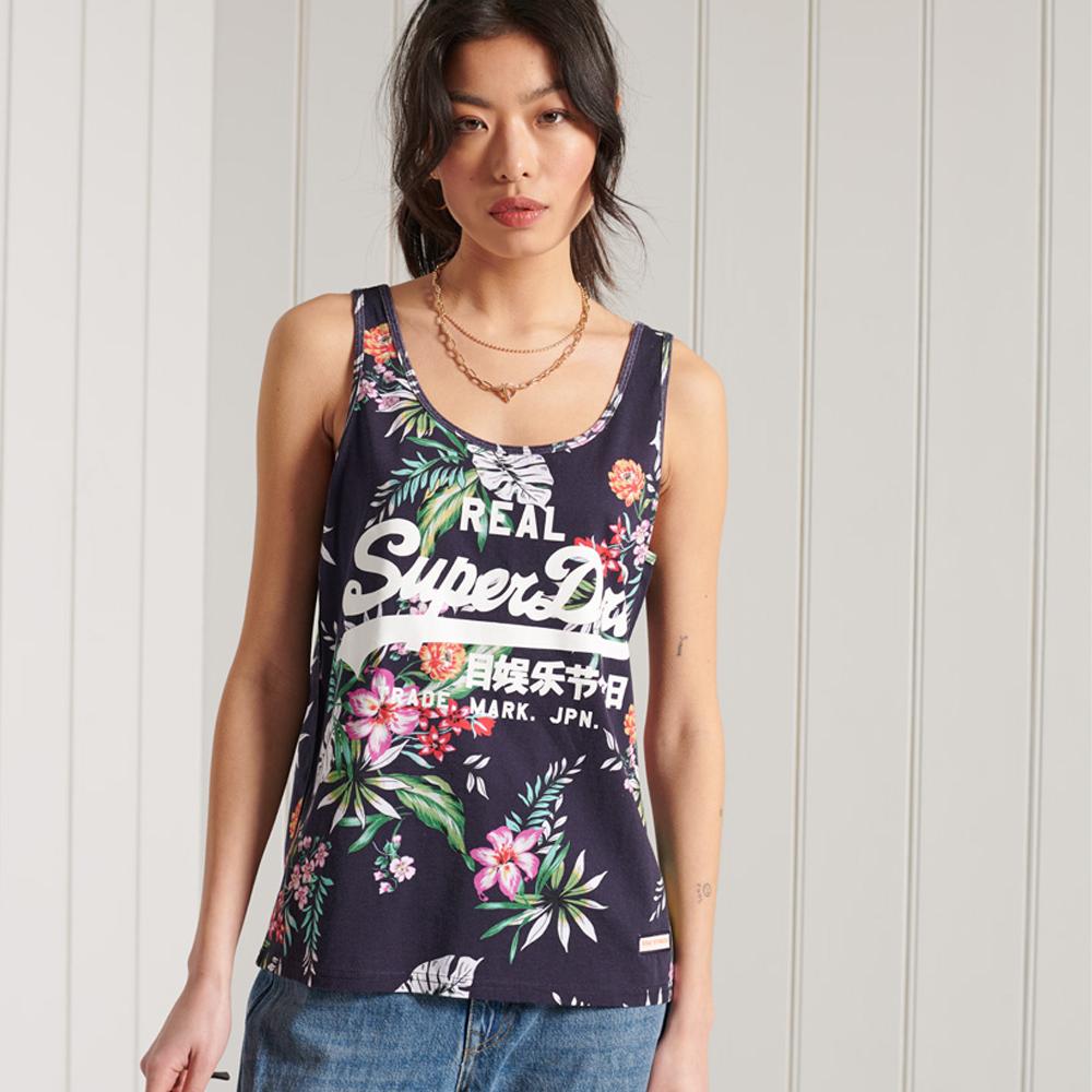 Superdry Vintage Logo All Over Print Vest