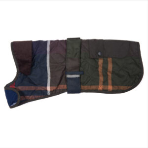 Barbour Quilted Classic Tartan Dog Coat