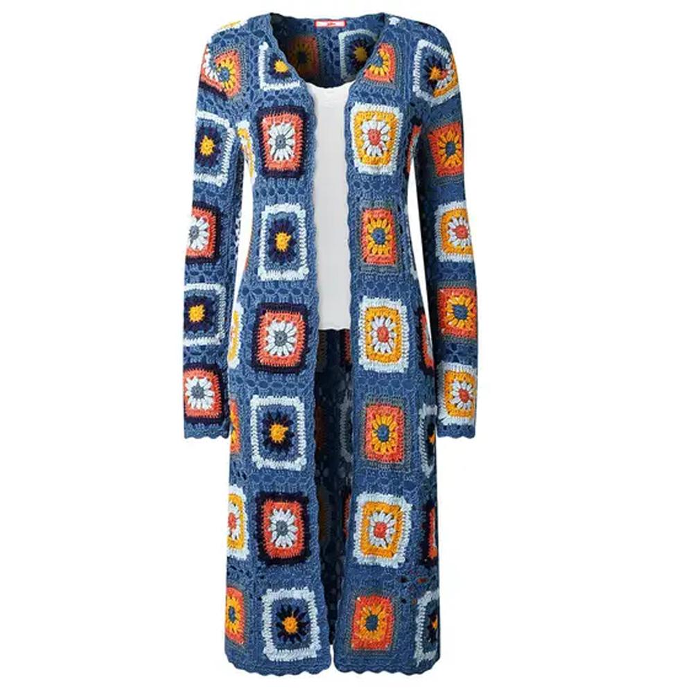 Joe Browns Crochet Longline Knit