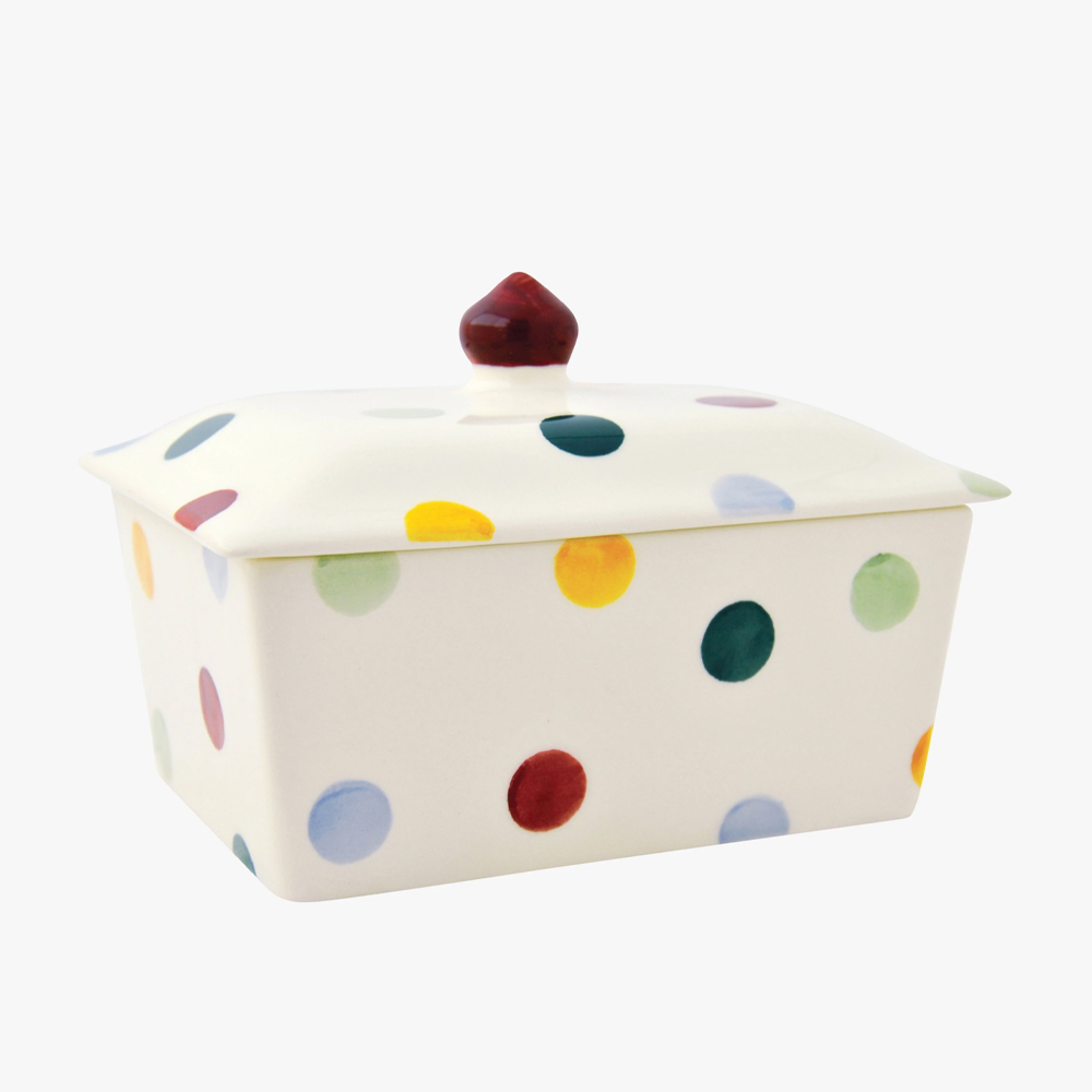Emma Bridgewater Polka Dot Small Butter Dish