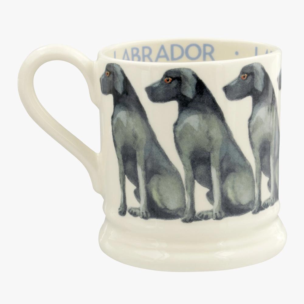 Emma Bridgewater Dogs Black Labrador 1/2 Pint Mug