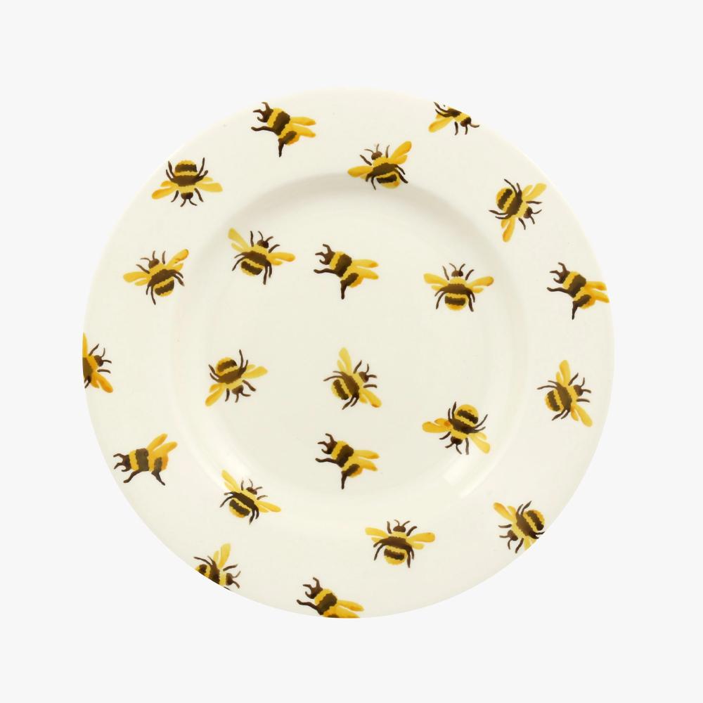 Emma Bridgewater Bumblebee 8 1/2 Inch Plate