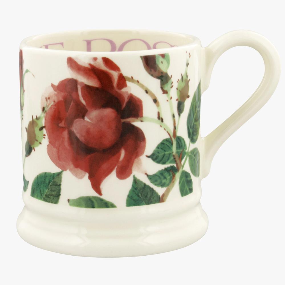 Emma Bridgewater Flowers Red Rose 1/2 Pint Mug