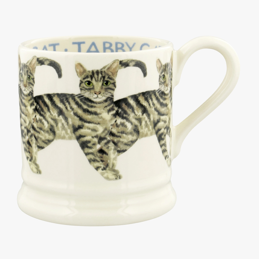 Emma Bridgewater Tabby Cats 1/2 Pint Mug