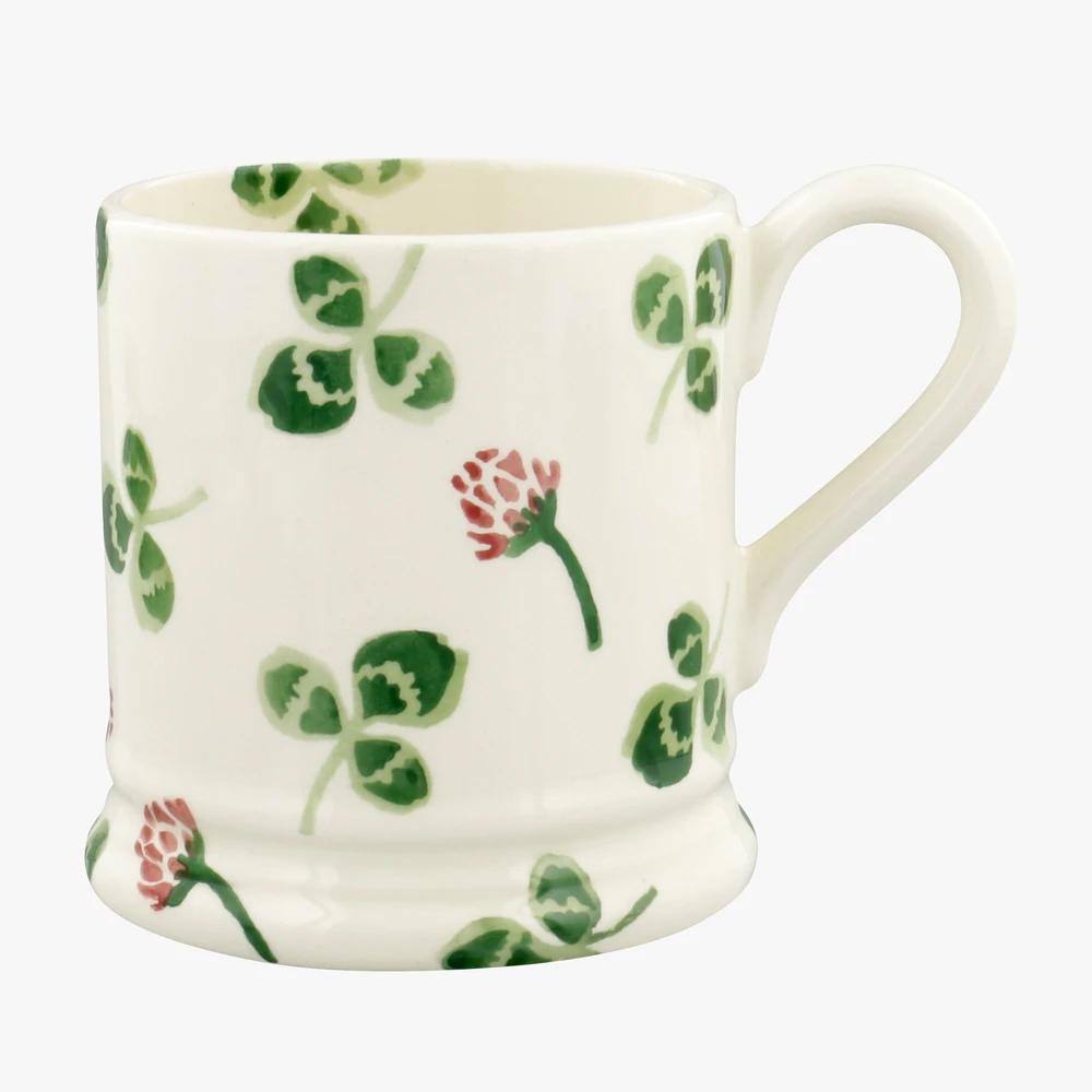 Emma Bridgewater Clover Flower 1/2 Pint Mug