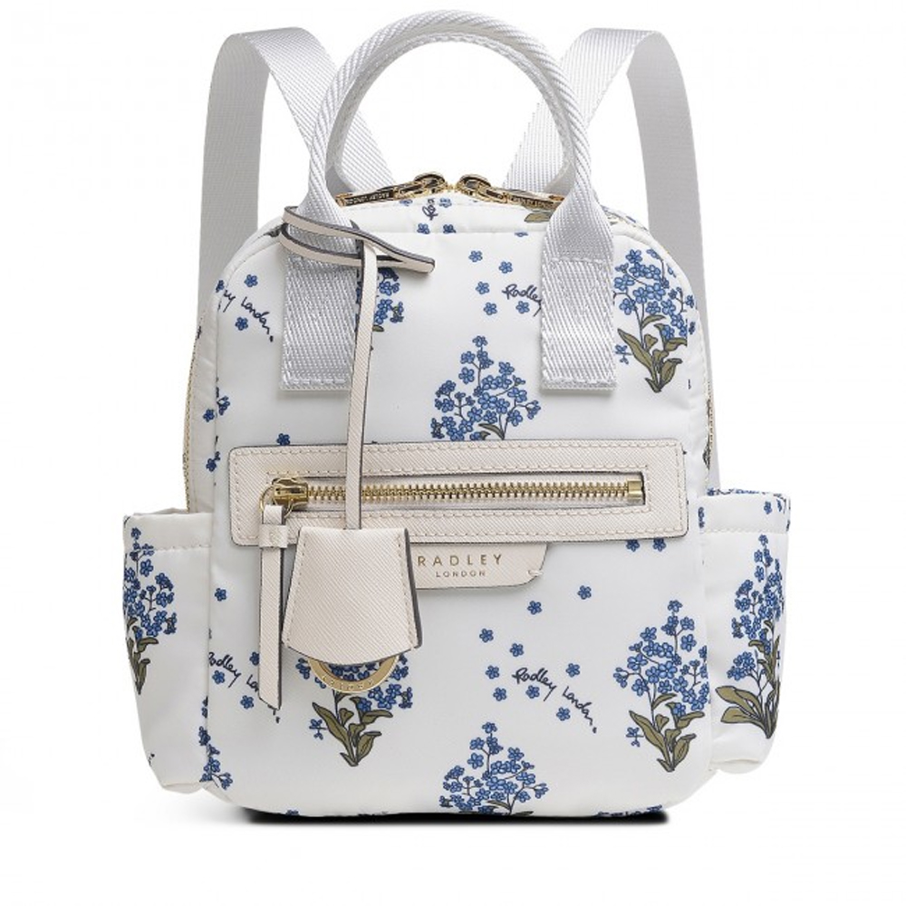 Radley  MAPLE CROSS - FORGET ME NOT SMALL ZIP-TOP BACKPACK