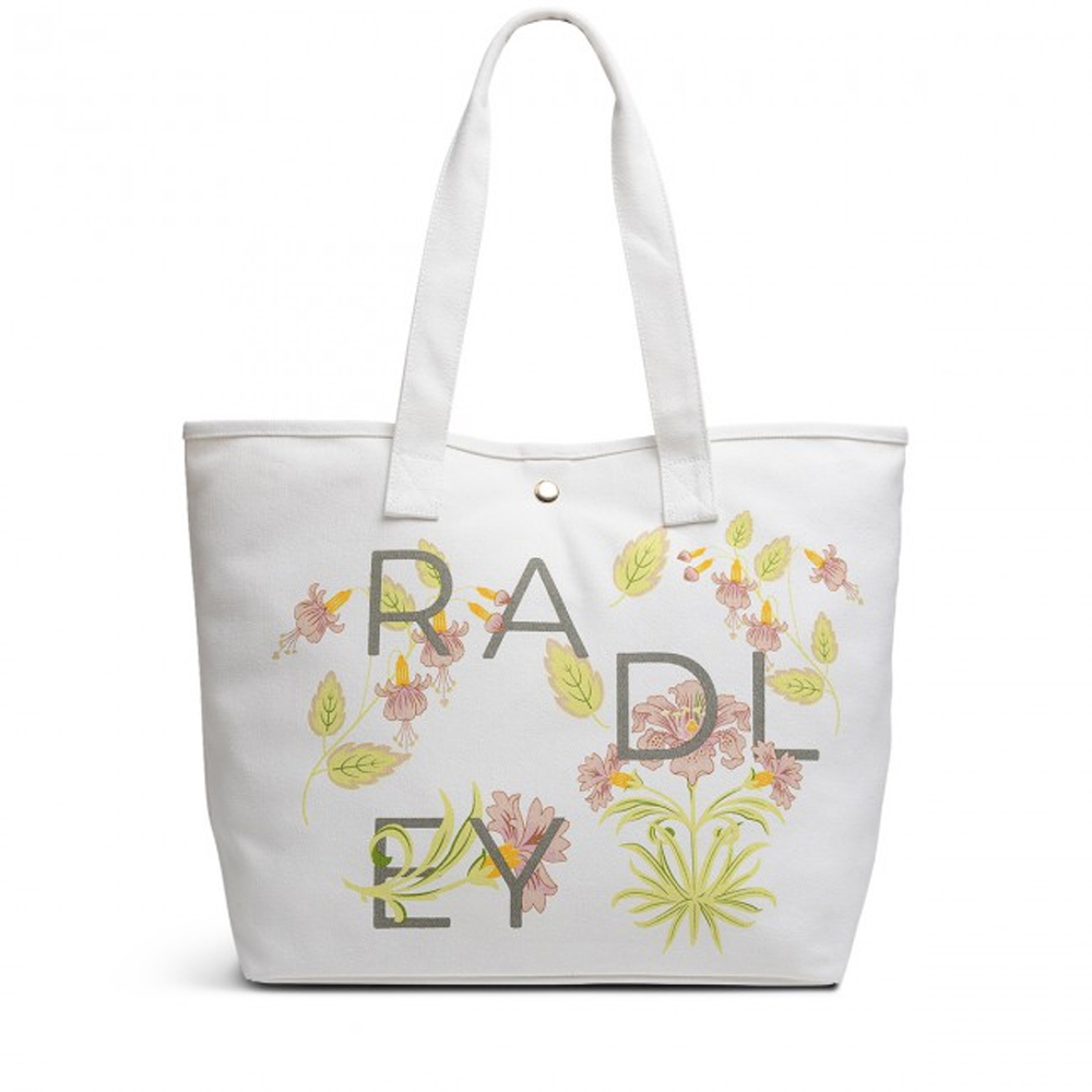 Radley HEAVY WEIGHT - DECO LETTERS LARGE OPEN TOTE BAG