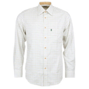 Barbour Field Tattersall Shirt  Classic Collar