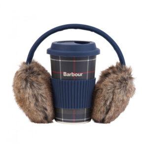Barbour Travel Mug & Earmuff Set