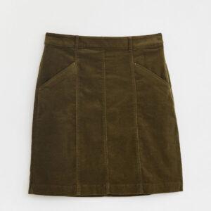 White Stuff Josie Organic Cord Skirt