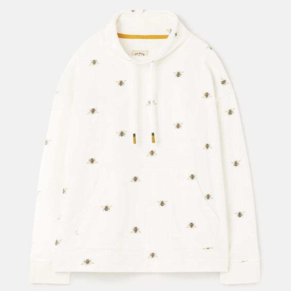 Joules Harlton Print Funnel Neck Sweatshirt