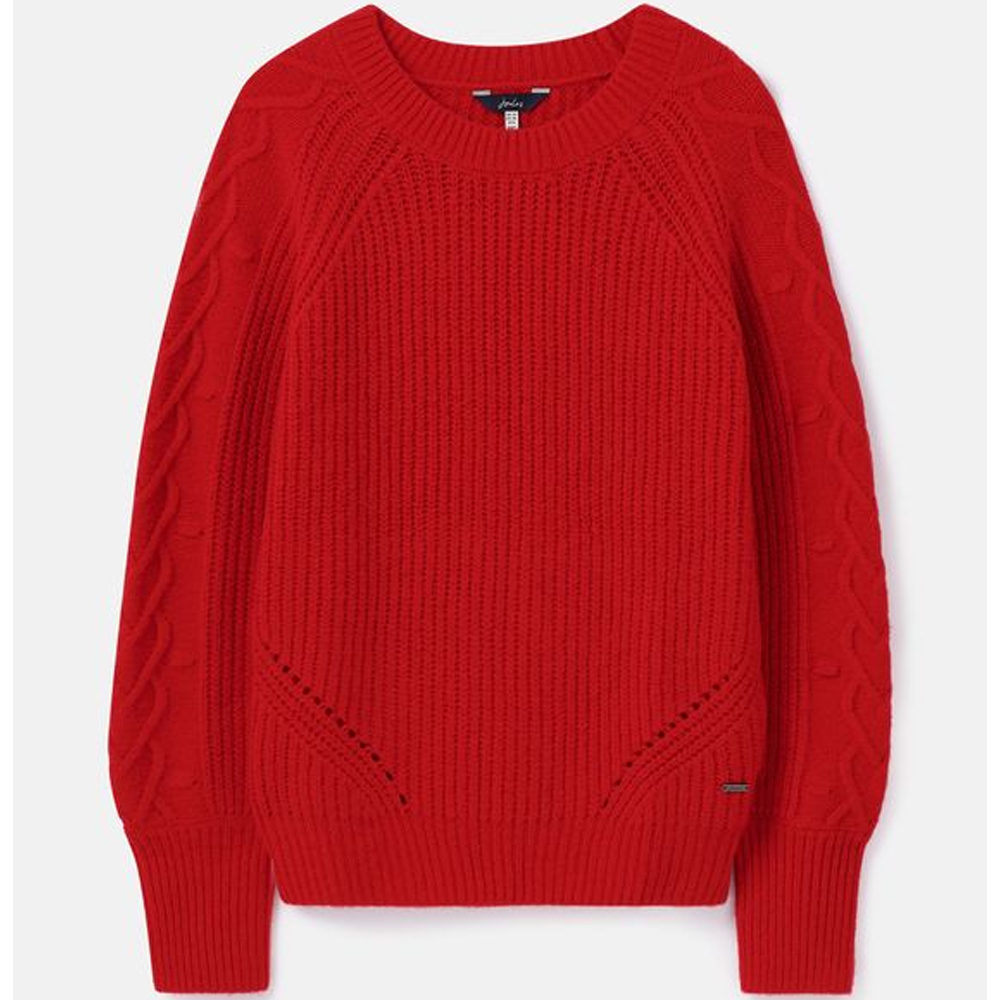 Joules Loretta Heart Cable Jumper