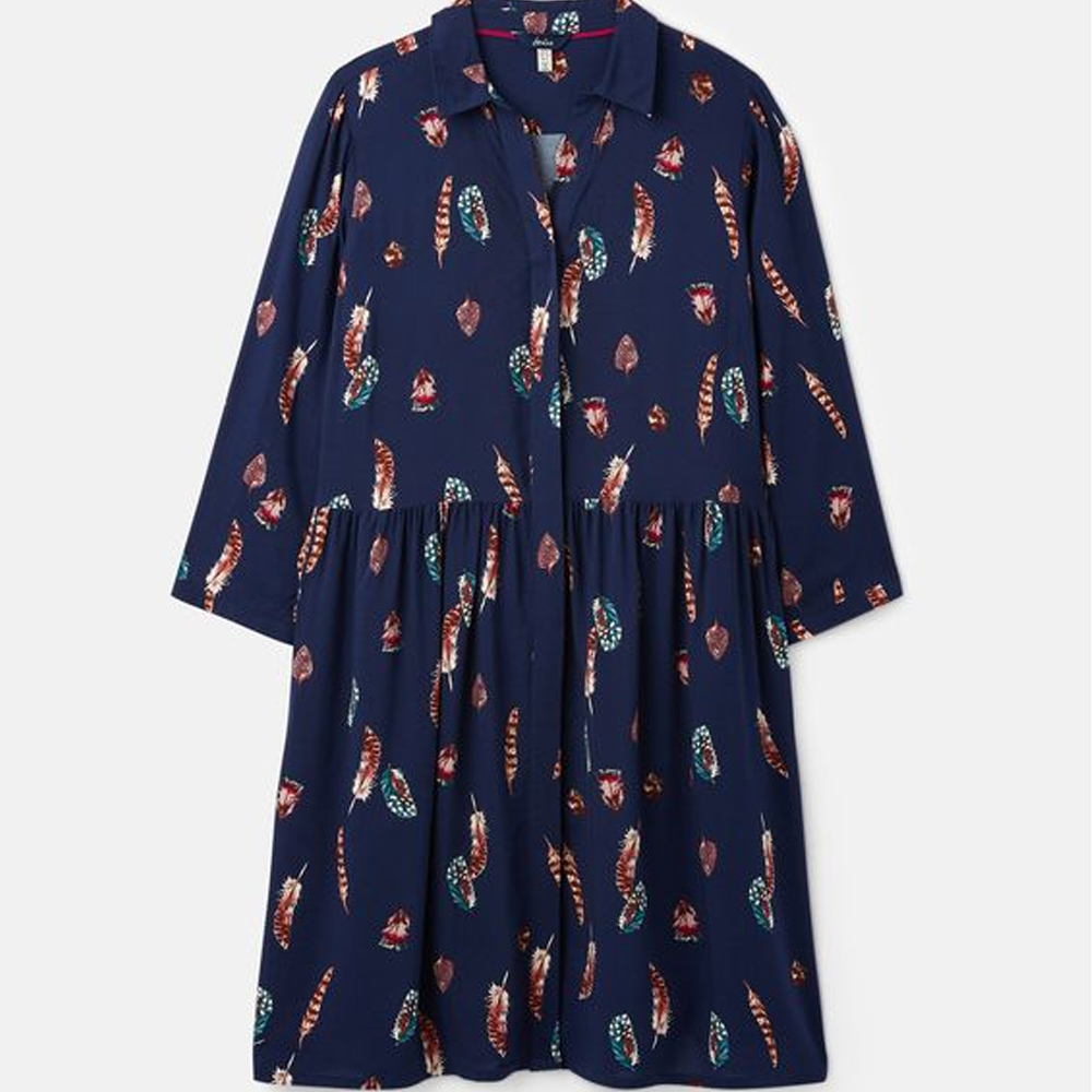 Joules Karis Concealed Placket Shirt Dress
