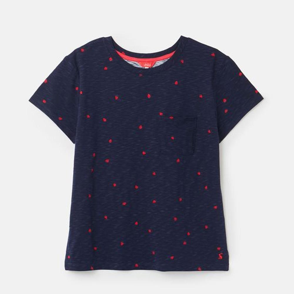 Joules  Sofi Print T-Shirt With Pocket