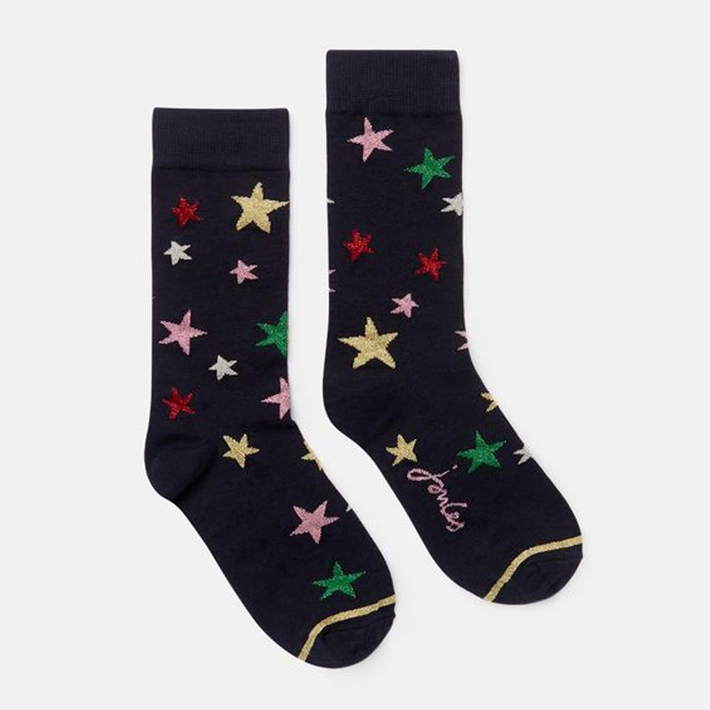 Joules Christmas Single Single Socks