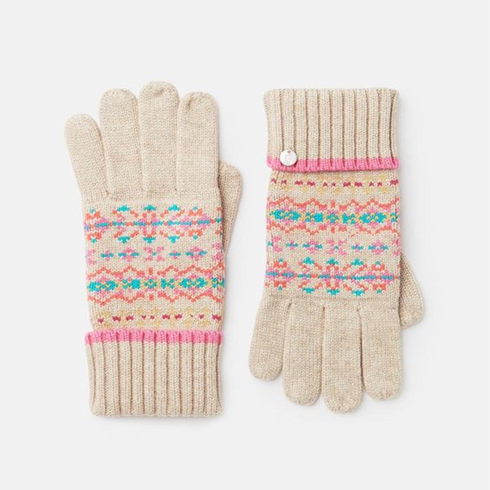 Joules Christina Gloves Fairisle Gloves