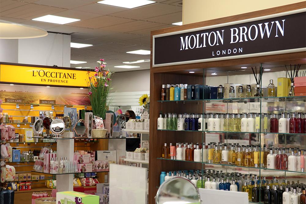 L'Occitane & Molton Brown at Goulds