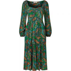 Joe Browns Peacock Paisley Print Dress