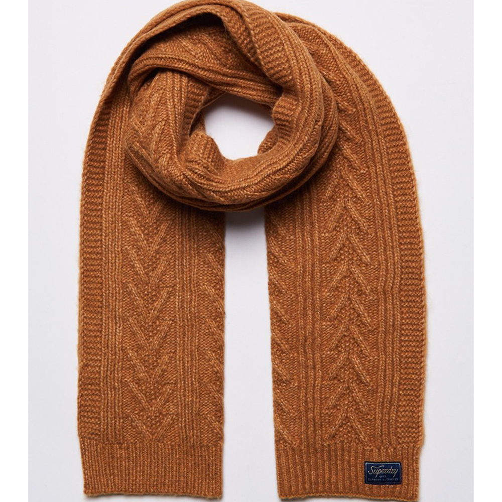 Superdry CABLE LUX SCARF